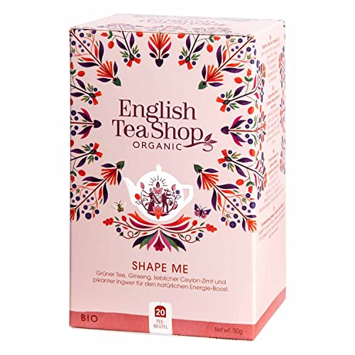 English Tea Shop - Shape Me, BIO Wellness-Tee, 20 Teebeutel von English Tea Shop