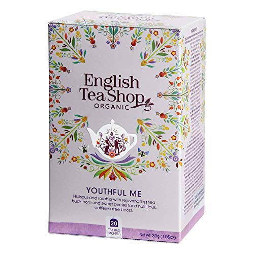 English Tea Shop - Youthful Me, BIO Wellness-Tee, 20 Teebeutel - (DE-Version) von English Tea Shop