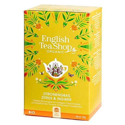 English Tea Shop - Zitronengras, Zitrus & Ingwer, BIO, 20 Teebeutel - (DE-Version) von English Tea Shop