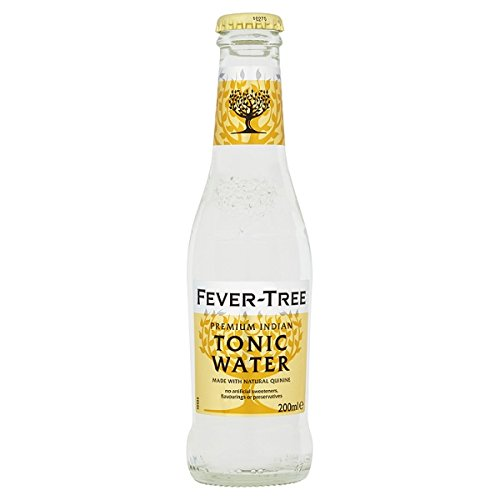 Fever-Tree Premium Indian Tonic Water 200ml (Packung mit 24 x 200 ml) von FEVER-TREE
