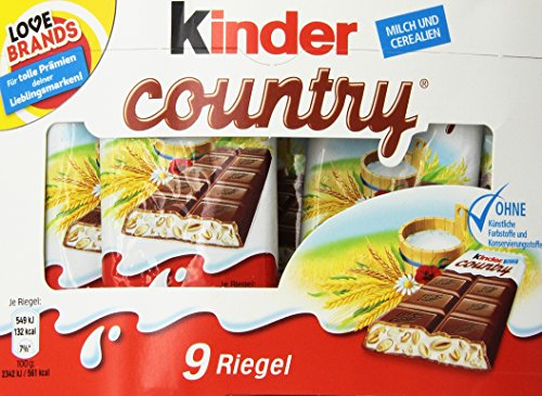 Ferrero KinderCountry 2516457 VE9 von Ferrero