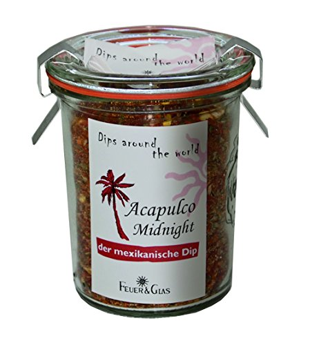 Dips around the world - Acapulco Midnight - der mexikanische Dip - von Feuer & Glas von Feuer und Glas