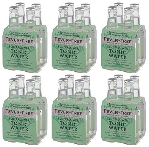 Fever Tree Elderflower Tonic Water 24 x 200ml von Fever Tree