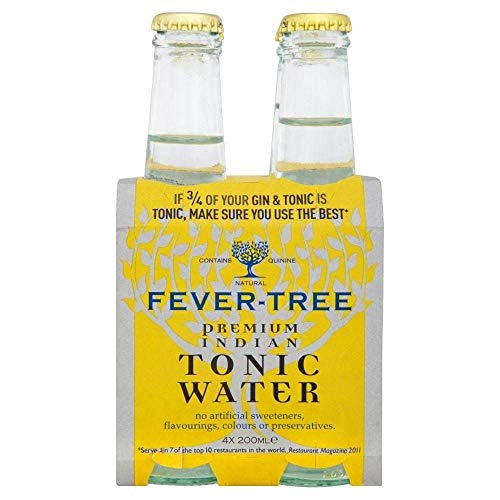 Fever Tree Indian Tonic Wasser (4X200Ml) von Fever Tree