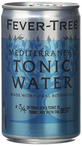 Fever Tree Mediterranean Tonic Water in Cans 8x150ml von Fever Tree