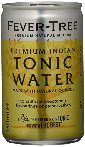 Fever Tree Premium Indian Tonic Water in Cans 8x150ml von Fever Tree