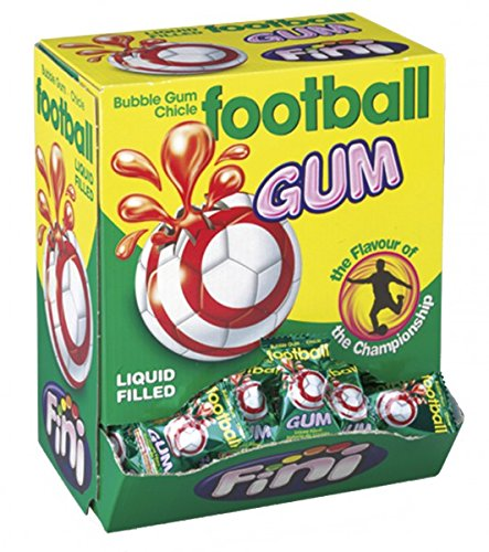 Bubble Gum Football Display 200 St. Menge:1 Packung von Fini