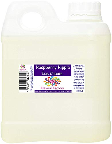 Flavour Factory Intensives Lebensmittelaroma 1000 ml Himbeere Ripple Eis von Flavour Factory