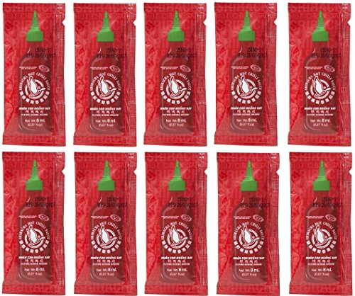 20x / 50x /100x Sriracha Chilisauce a 8ml super scharfe chillisoße hot spicy FLYING GOOSE chilli sauce (50) von Flying Goose