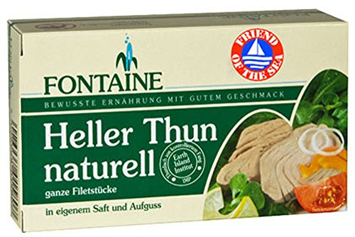 10er-VE Heller Thunfisch naturell 120g Fontaine von Fontaine