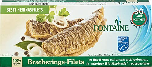 Fontaine Bio Bratherings-Filets in Bio-Marinade (2 x 325 gr) von Fontaine
