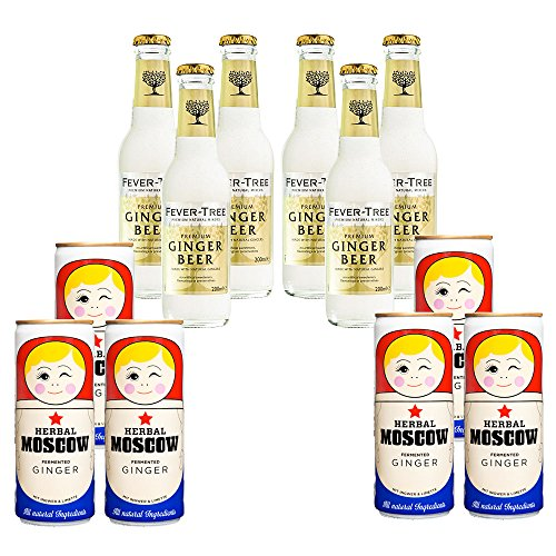 Ginger Paket: Fever-Tree + Herbal Moscow von FrankBauer360
