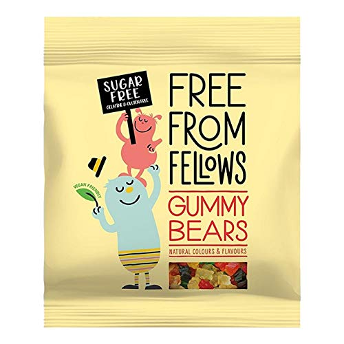 5 x Free From Fellows Sugar Free Gummy Bears Sweets 100g von Free From Fellows