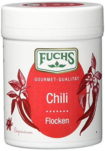 Fuchs Chillies in Flocken, 3er Pack (3 x 55 g) von Fuchs Gewürze