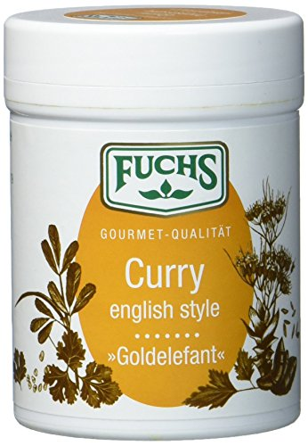 "FUCHS Curry english style ""Goldelefant"", Currypulver (kräftige Curry Gewürzmischung in Dose), 3er Pack (3 x 60 g) von Fuchs Gewürze"