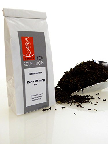 Fumaga Tea Selection - Schwarzer Tee Early Morning - Darjeeling-Ceylon Blatt - 30 g/90 g/ 200 g von Fumaga
