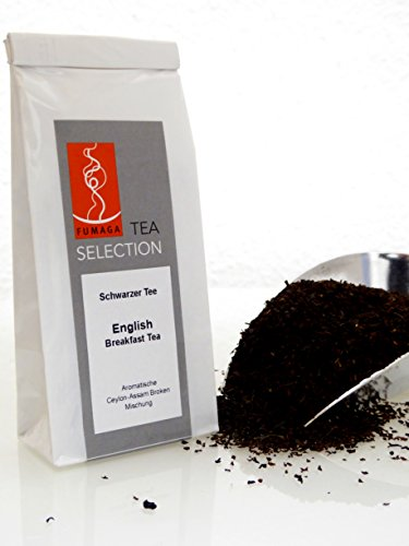 Fumaga Tea Selection - Schwarzer Tee English Breakfast Broken - 30 g/ 90 g/ 200 g von Fumaga
