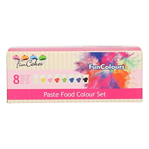 FunCakes FunColours Paste Food Colour Set, 240 g von FunCakes