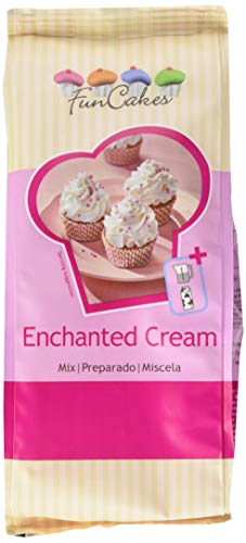 FunCakes Special Edition - Mix for Enchanted Cream 450g - lockere weiße Creme mit Vanillegschmack von FunCakes