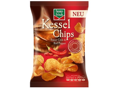funny-frisch Kessel Chips Sweet Chili & Red Pepper von Funny-Frisch