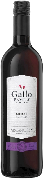 Gallo Family Vineyards Shiraz Jg. 2016 U.S.A. Kalifornien Gallo von Gallo