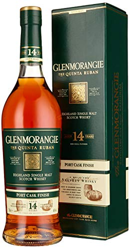 Glenmorangie The QUINTA RUBAN 14 Years Old Highland Single Malt Scotch Whisky (1 x 0.7 l) von Glenmorangie