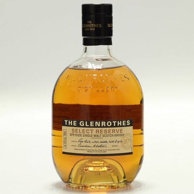 Glenrothes Select Reserve  0,7 L 43%vol von Glenrothes