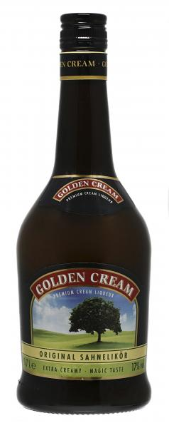 Golden Cream Sahne-Liqueur Whisky von Golden Cream