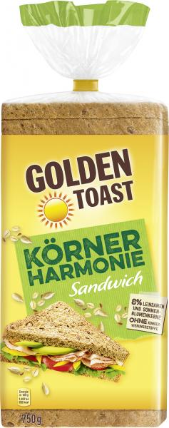 Golden Toast Körner Harmonie Sandwich von Golden Toast