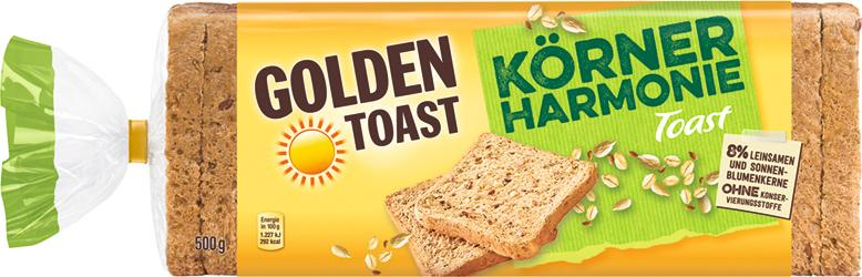 Golden Toast Körner Harmonie Toast von Golden Toast