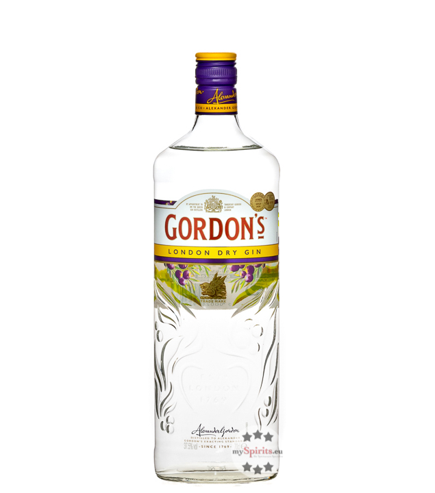 Gordon's Dry Gin 0,7l (37,5 % vol., 0,7 Liter) von Gordon's