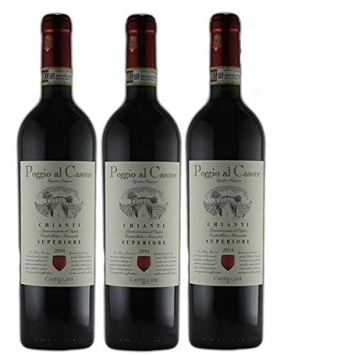 Rotwein Italien Chianti Superiore 2015 trocken (3 x 0,75l) von Grands Chais de France | F-67290 Petersbach