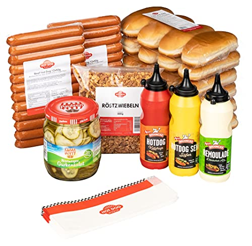 "HOT DOG WORLD - Hot Dog Paket ""dänische Art"" (24 Stück BEEF) von HOT DOG WORLD"