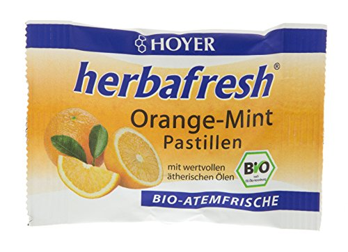 Hoyer Orange-Mint-Pastillen, 17 g von HOYER