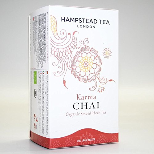 Hampstead Tea Karma Chai 20 BAGS x 4 von Hampstead Tea