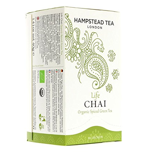 Hampstead Tea | Life Chai | 2 x 4 x 20 bags von Hampstead Tea