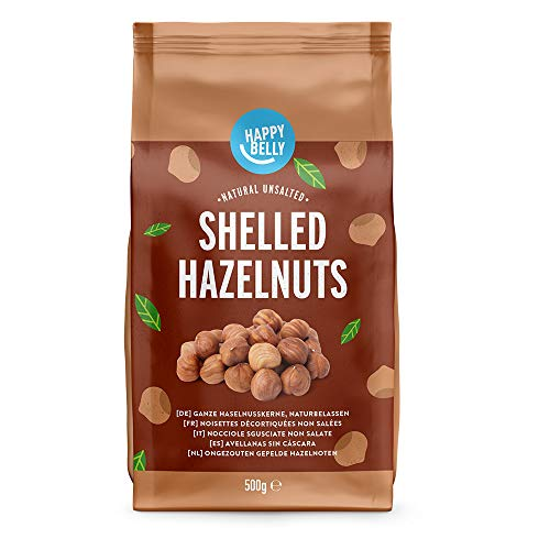 Happy Belly Hazelnuts Shelled 4x500g von Happy Belly