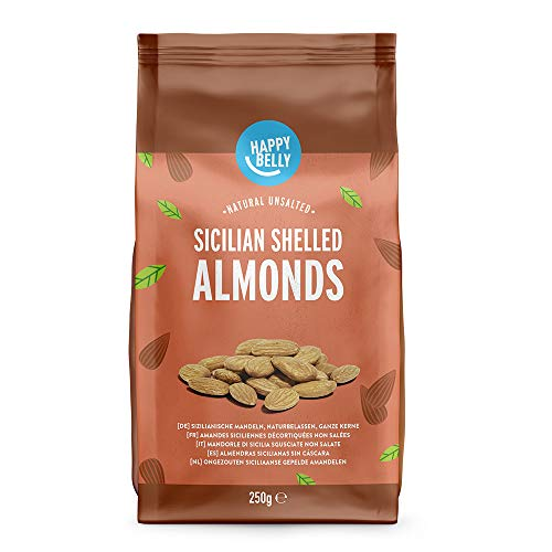 Amazon Marke: Happy Belly Sicilian Almonds 6x250g von Happy Belly