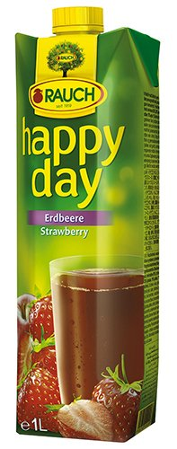 12x Happy Day - Erdbeere - 1000ml von Happy Day