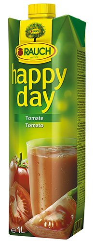 12x Happy Day - Tomatensaft 100 % - 1000ml von Happy Day