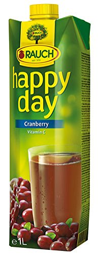 Happy Day Cranberry, fruchtig-herb, Tetra - 1L - 2x von Happy Day