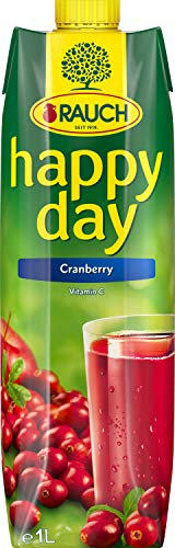 Happy Day Cranberry, fruchtig-herb, Tetra - 1L - 4x von Happy Day