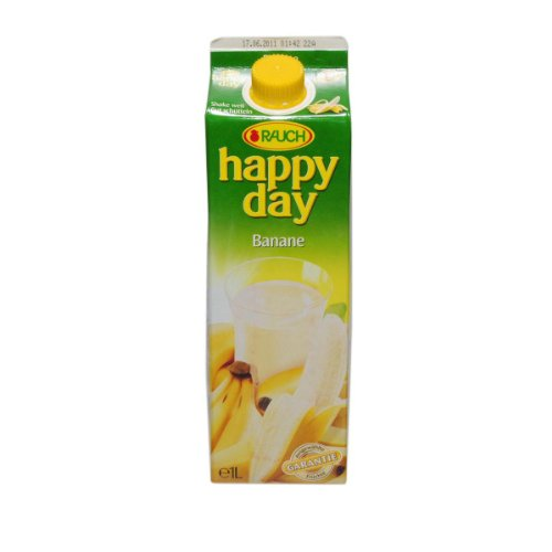 Happy Day Happy Day Fruchtsaft Banane - 1 x 1000 ml von Happy Day