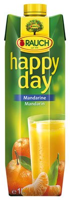 Happy Day Mandarine, Tetra - 1L - 4x von Happy Day
