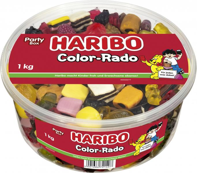 Haribo Color-Rado Party Box von Haribo