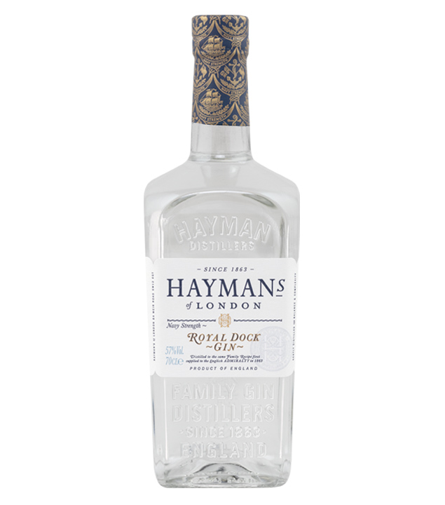 Hayman's Royal Dock Gin (57 % vol., 0,7 Liter) von Hayman's of London