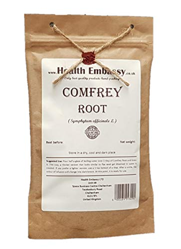 Beinwellwurzel 50g (Symphytum officinale) / Comfrey Root 50g - Health Embassy - 100% Natural von Health Embassy