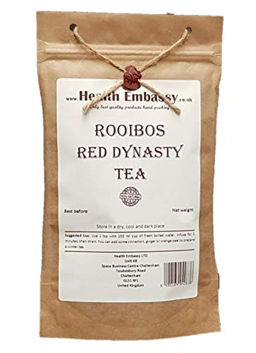 Rooibos Roter Tee 75g / Rooibos Red Dynasty Tea 75g von Health Embassy