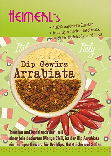 HEIMERLs Gewürz Set Hot Shot - Dip Arrabiata 80g, Dip Mexiko 80g, Dip Cafe de Paris -Original- 80g von Heimerls Wild- und Heilpflanzen