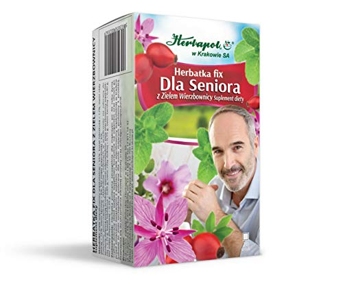 SENIOREN-TEE-UPDATE MIT WEIDENHERBE - SENIOR'S TEA FIX WITH WILLOWHERB, 20 Teebeutel, Herbapol Krakow von Herbapol w Krakowie SA